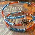 Glass Beaded Wrap Around Br..
