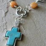 FREE SHIPPING - Cross Beade..